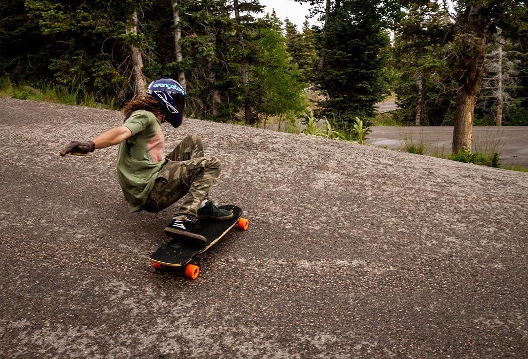 Rain or shine #OrangatangAmbassador @kalil.hammouri has as much fun as he can on skateboards.