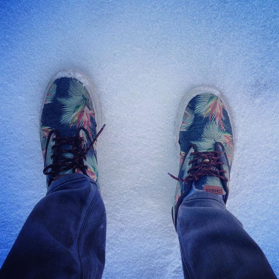 Sobre la nieve @fefegoni ❄️ #SpiralShoes #QualityShoes #Snow #Winter
