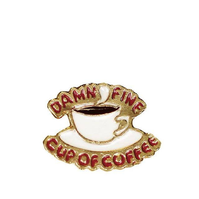 Twin Pins (COFFEE)  Dibujado por @_antolin