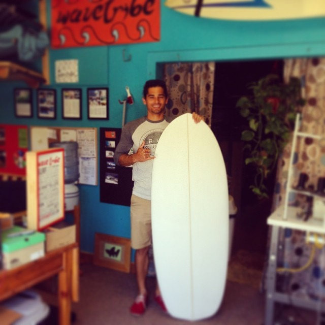 Mike picked up his new custom Mini at Wave Tribe office. Enjoy bro!