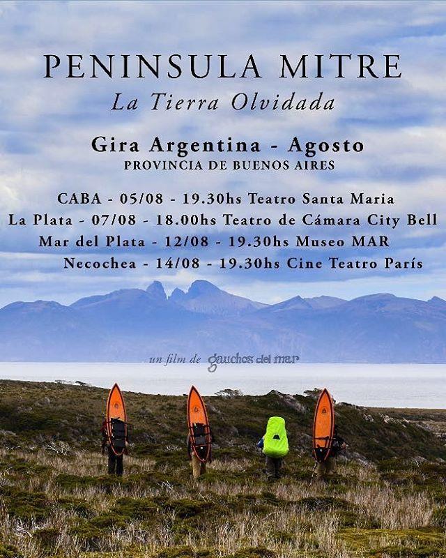 @gauchosdelmar con su lanzamiento Peninsula Mitre! Seguí el link para la compra de entradas, no te quedes arafue!