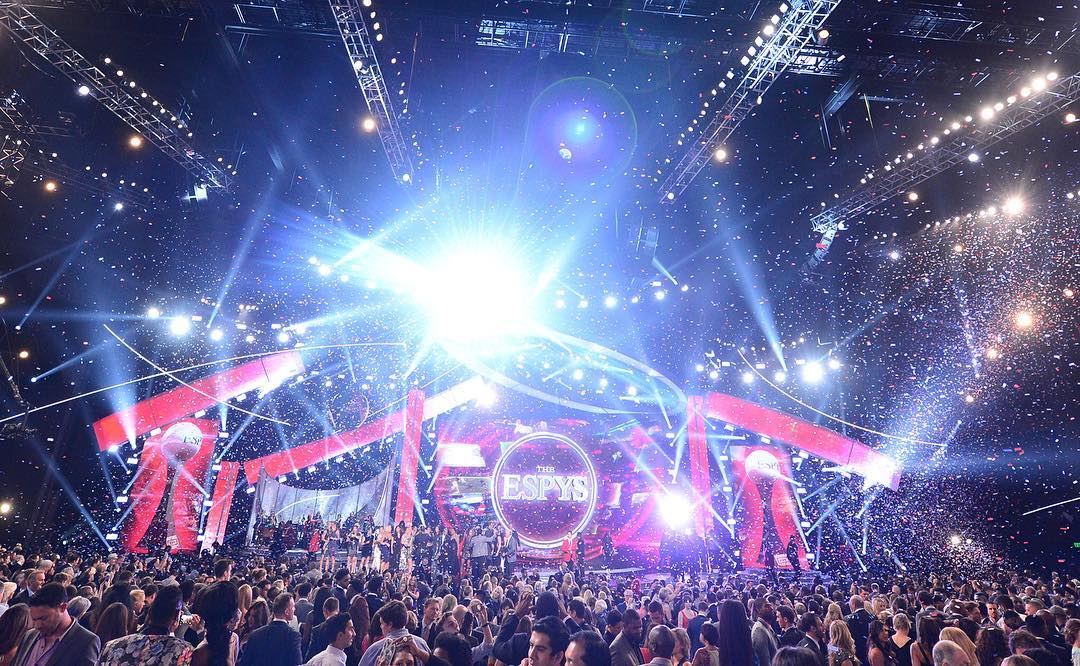 We're en route to └A to celebrate some of the world's most elite action sports athletes at the #ESPYS!  It's goin' down Weds., July 13 at 8 pm ET on ABC.