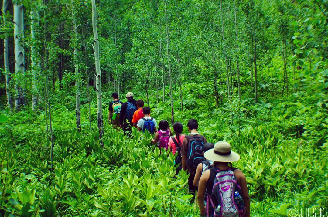 Last week, more Eagle County participants went out on #backpacking #trips than all of last summer's trips combined!