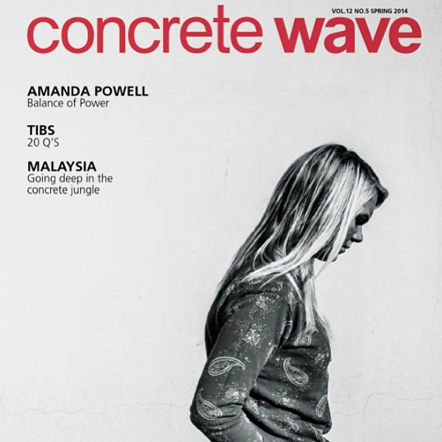 The newly polished @concretewavemag is online. We couldn't be prouder or more stoked on @amandapowellskate's cover. You're killing it Commander!! Also check out our #longboardgirlscrew column with our monthly report on the worldwide female longboard...