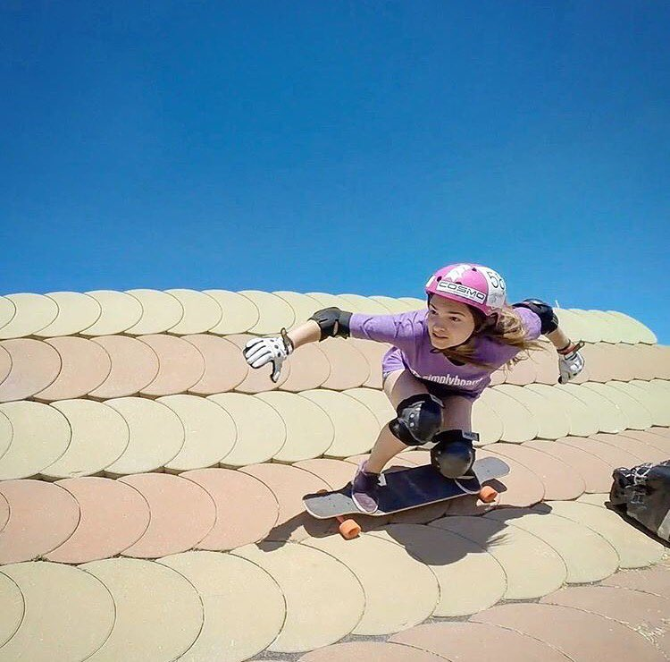 Cool photo of @miriaam_tena during the @extremebarcelona! Give her a follow, this girl is rad. Thanks for the