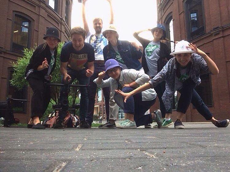 Summer Squad Goals #kangol via @lmosquitos_locking