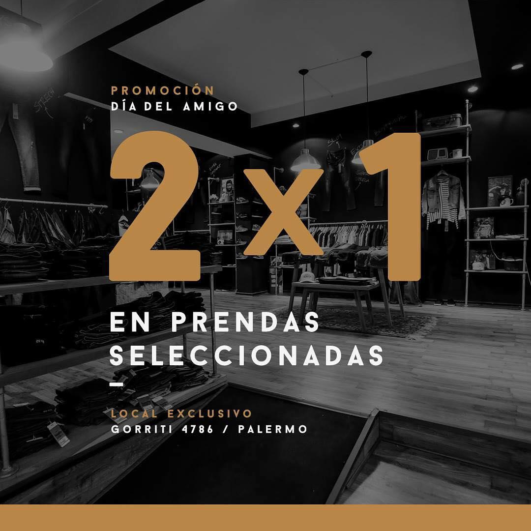 PROMO DÍA DEL AMIGO! ➡️ 2 X 1 en prendas seleccionadas! Te esperamos en Gorriti 4786 (Palermo) - Martes a Sábados de 11 a 20 hs - Domingos y Feriados de 14 a 20 hs __________________ #SoulflyConcept #2x1 #Promo #DíaDelAmigo #Fwlook #Denim #Jean...