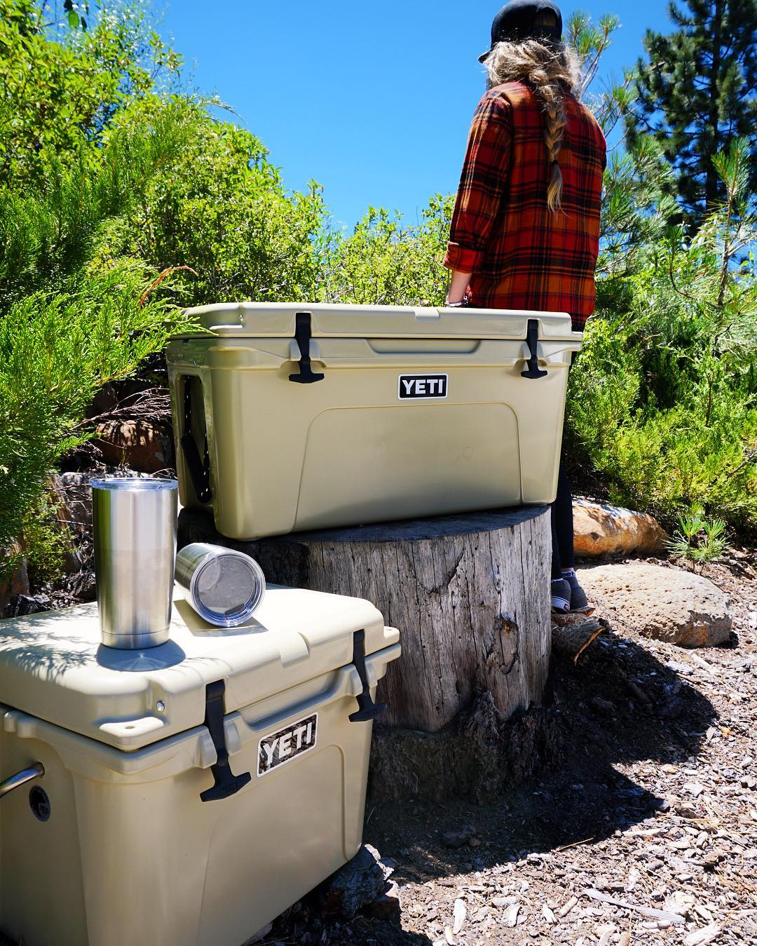 Wildly stronger! Keep ice longer! High Five @yeti for keeping #HighFivesAthlete's food fresh and beverages cold! #builtforthewild