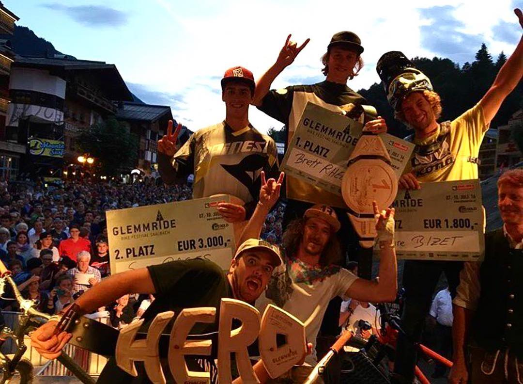ICYMI: Frenchy takeover at Glemmride 2016 in Austria with our own @antoinebizet taking home 3rd