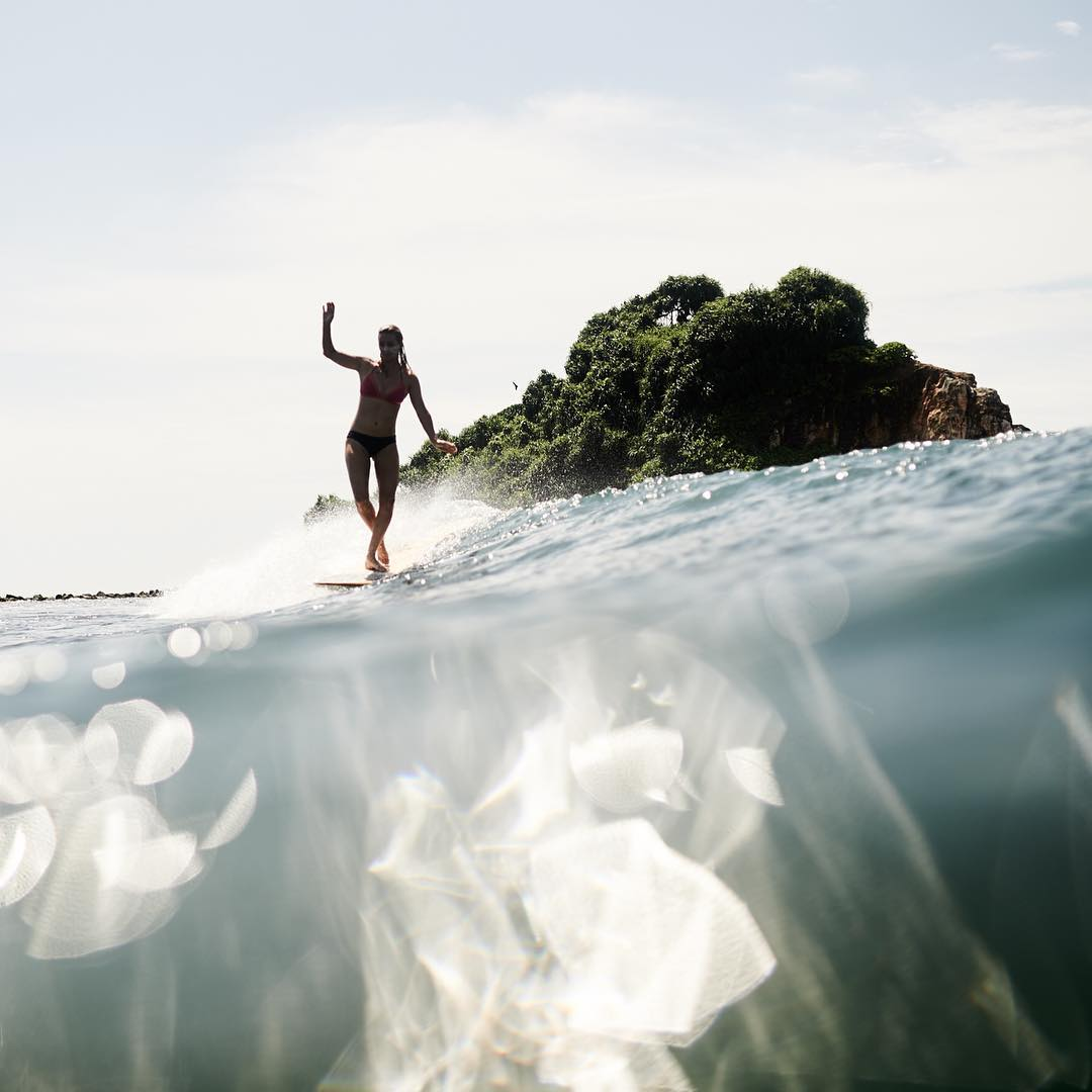 Little islands just off the coast of Sri Lanka. Shot by @chris_delorenzo | @prana @reef_girls @manda