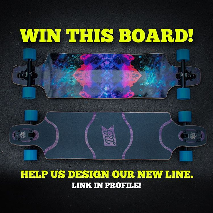 "We are giving away a Paradigm 41"" longboard and all you need to do to enter for a chance to win is sign-up for our email newsletter and answer the questions by following the link! We will announce the winner this Friday! Click the link in our bio to..."