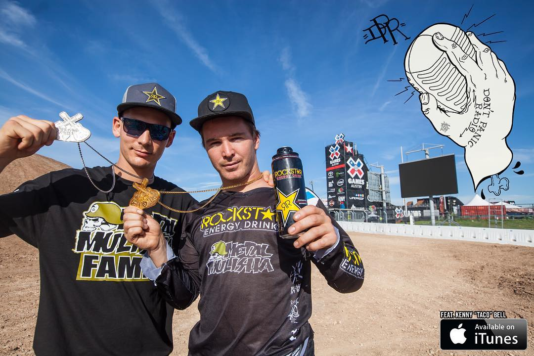 Check out the latest installment of @DontPanicRadio0 FEAT. @JackoStrong & @RobAdelberg as they prep for @NitroCircus #WorldGames this wknd