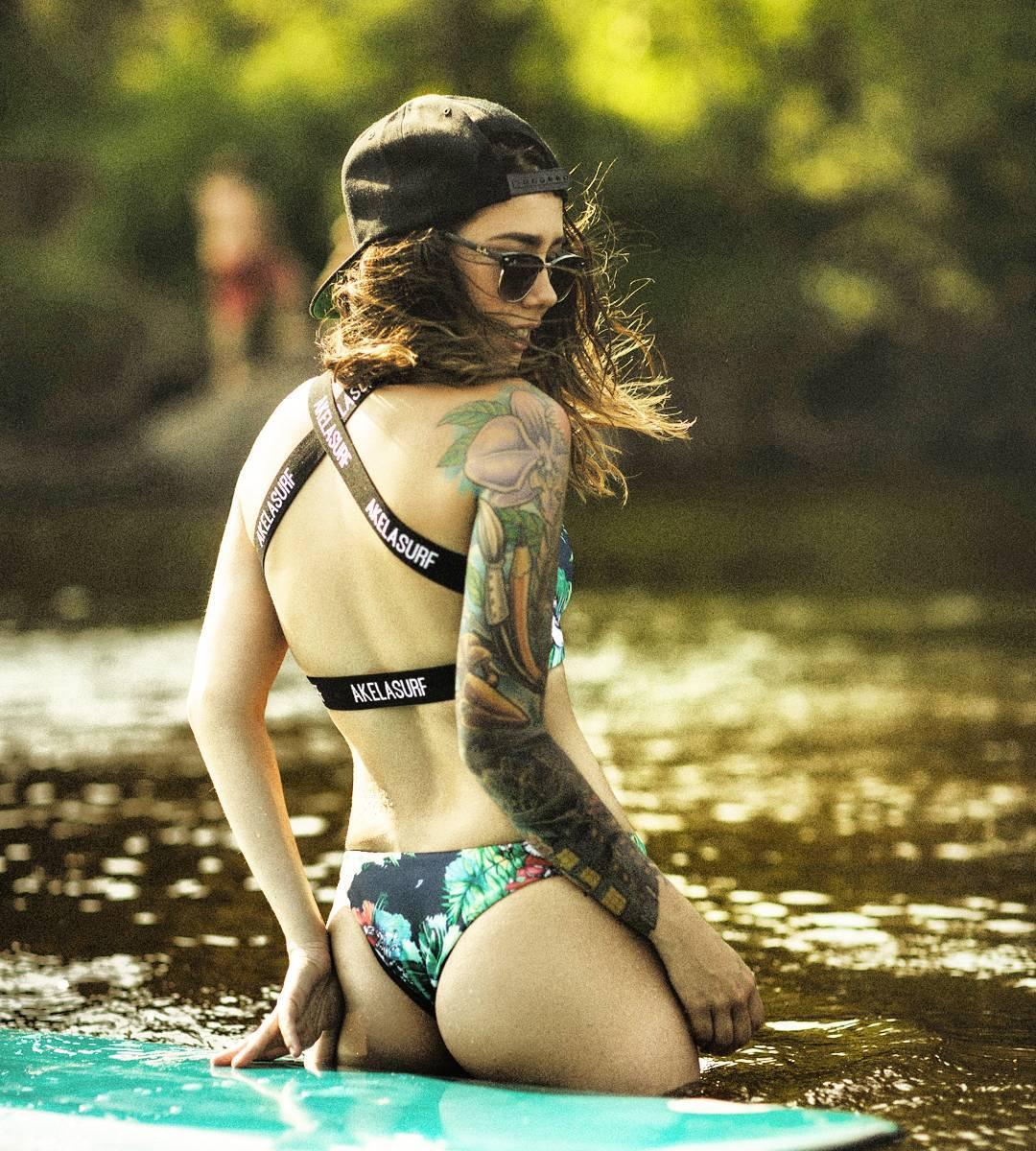 #AkelaSurf Ambassador @katia_curadeau @laurenrothart Collection #AkelaBikinis #bikini #photo @marcographie