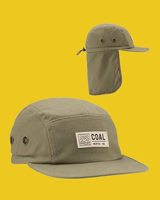 Wear it up or wear it down. The Trek's convertible neck flap has you covered all summer. Available at finer retailers and link in bio! #coalheadwear