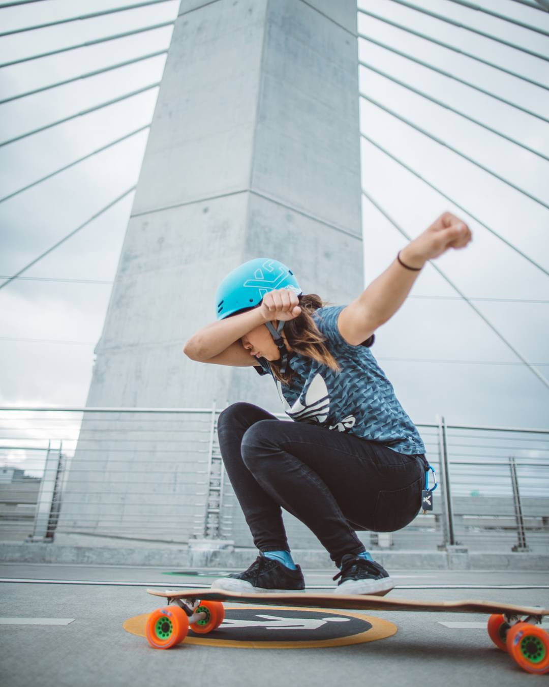 Our trendiest #LoadedAmbassador @iamcindyzhou makes sure to dab on 'em while she cruises the bridges of Portland on her Loaded Icarus.  You may be able to take Cindy out of Toronto, but you can never take the Toronto out of Cindy  Photo:...
