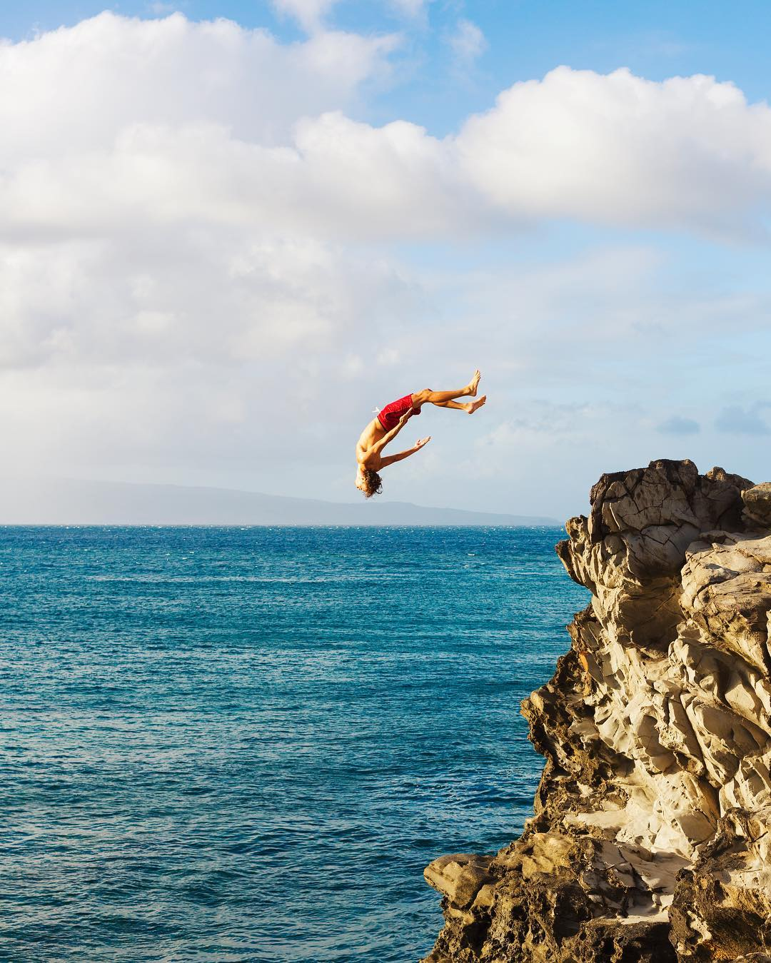 If things seem under control, you're just not going fast enough. #lifesoundsgood #quote #cliffjump #tuesdayinspiration #adventure