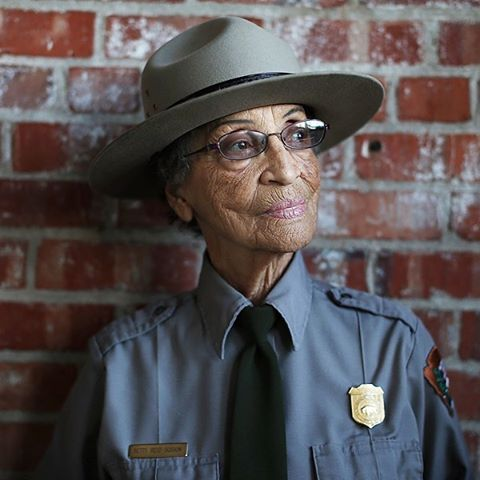 BLESS BEAUTIFUL MISS BETTY  betty reid soskin just returned to work for @nationalparkservice being the oldest employee at age 94 #parkchamps #nps100 #radparks