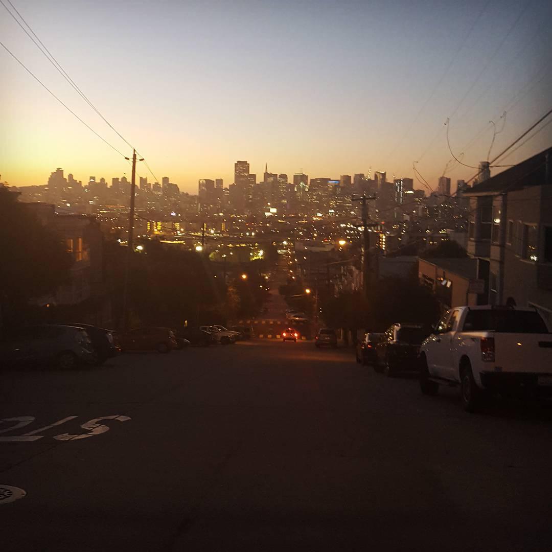 SF hills!  #bonzing #sanfrancisco #sunsetsliders