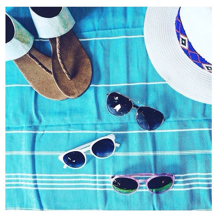 Summer essentials via our pals @luvsurfboutique