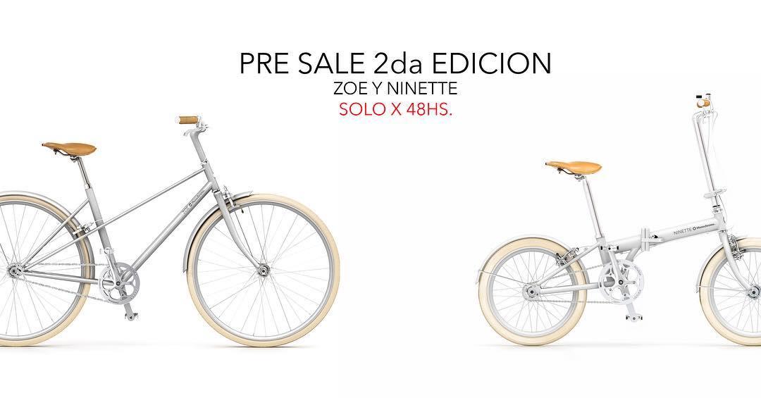 A pedido del publico! Pre sale 2da edicion solo x 48 horas precios y formas de pago en monochromebikes.com/pre-sale-zoe-y-ninette #monochromebikes #monochromebikeshop #ilovemymonochrome #bike #monochromenew