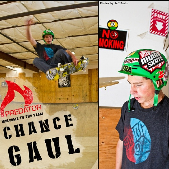 We are stoked to announce that Laguna Beach native and Sector9 rider Chance Gaul will be joining the Predator Helmets family. Welcome to the team Chance,  2014 is looking good!  Photos by: @sk8withbudro  @sector9 ldbr @sector9 #FR7 #breadbowl