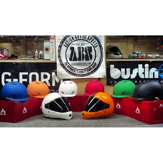 Do you live in the Midwest?  Check out Action Board Sports in Lansing, Michigan. They have a huge selection of longboard gear and are stocked up on #DH6 & #FR7 helmets.  Check them out at @actionboardsports