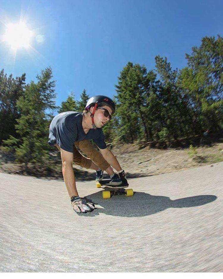 Rad shot of Canadian downhill shredder @alexisgl1 . Alexis wears the S1 Lifer Helmet . #s1lifer #s1helmets