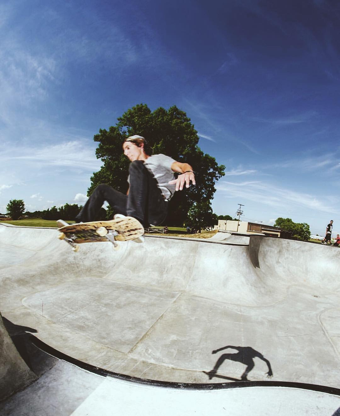 @damianschro breaking in the new Hopkinsville park.