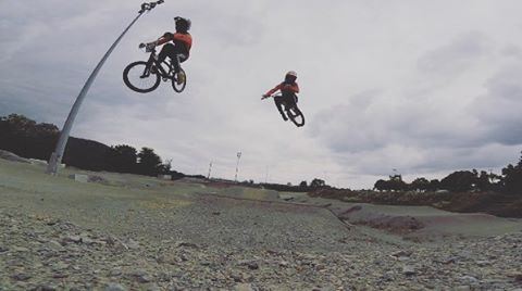 How do you celebrate winning the Junior European BMX Champs? You head straight back to the track with your friends for a chilled rip around.. Congrats to Mathis Ragot Richard for his winning performance in Verona... Enjoy your new stripes Mathis!!...