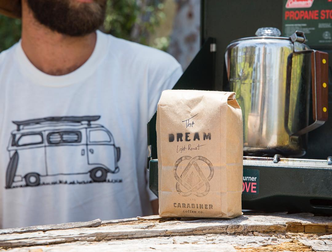 ~ Giveaway ~  Our giveaway continues through today!  There's nothing better then having your morning coffee outside, surrounded by nature.  So we've teamed up with our good friend Erik from @carabinercoffee to giveaway a bag of his tasty brew along...