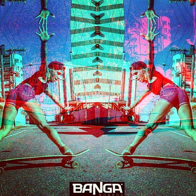 Doble o nada! BANGA boards! #skate #skategirl #skating #longboard #longboardgirl #bodyboard #surf #surfgirl #surfing #urban #street #streetstyle #doble #double #argentina #brasil #chile #peru #venezuela