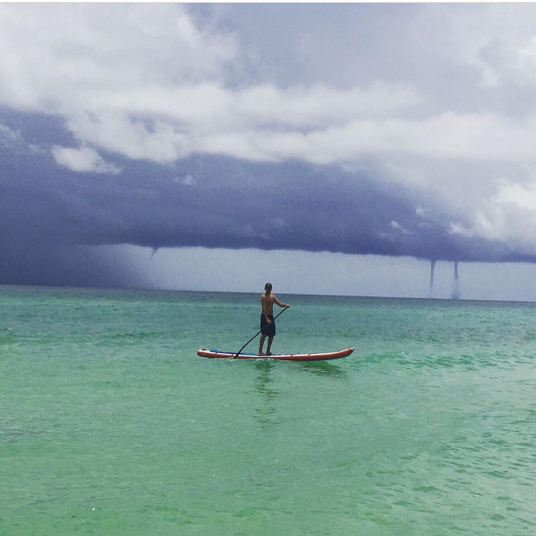 @jacknife28 out paddling with some #sharknados in the Gulf of Mexico.  #halagear #adventuredesigned #paddlewithfriends #isup #inflatable #standuppaddle #paddleboarding #suplifestyle #adventurers #sup #supthemag #repostmysup #stand_up_paddle #paddle...