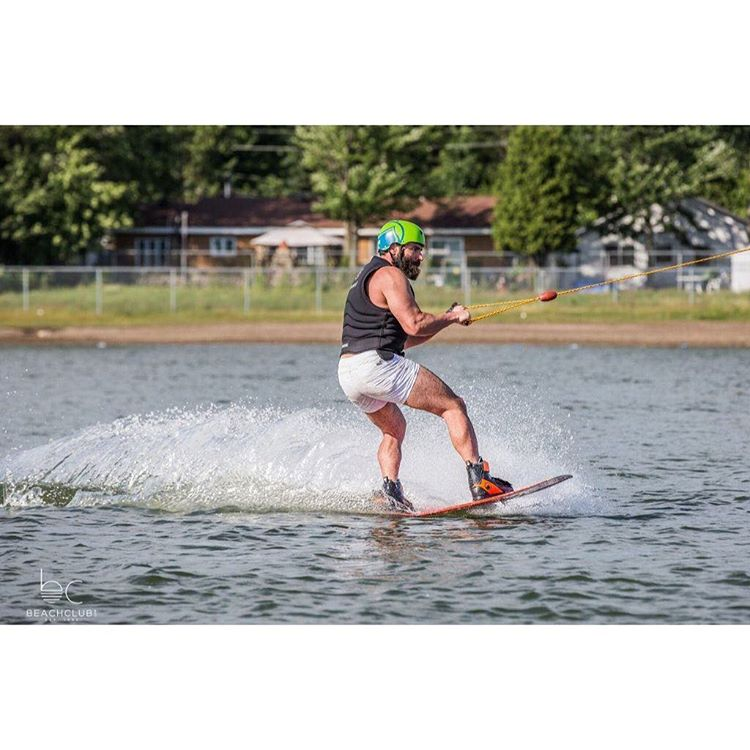 The most interesting man on Instagram doesn't always wakeboard, but when he does he rides LF...