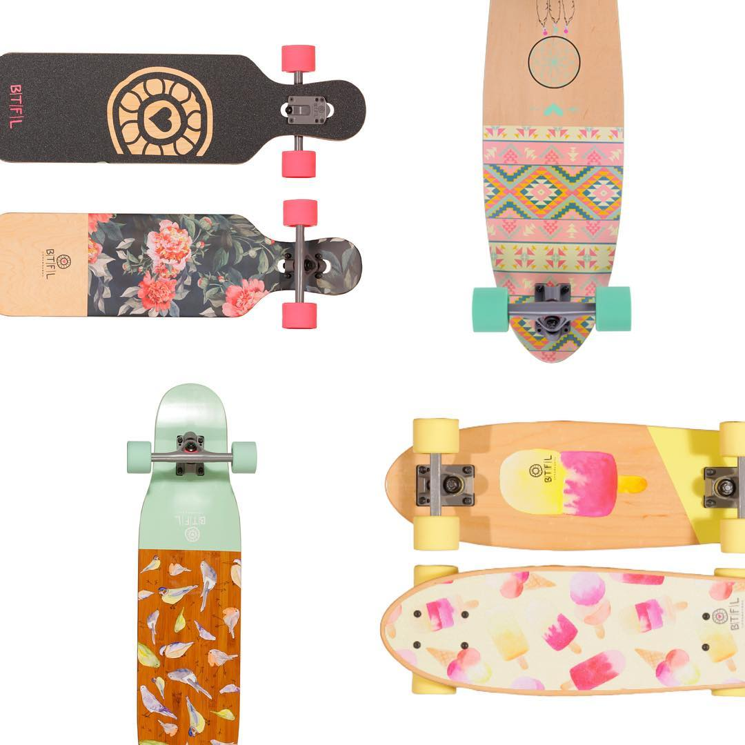These beauties! @btflboards designs boards for women (and lighter men