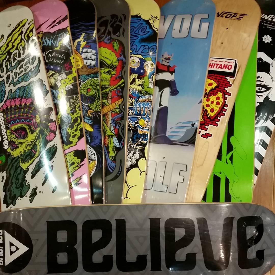 Maplecitos #woodooskateboards #vogskateboards #BelieveSkateboards #sincopeskateboards