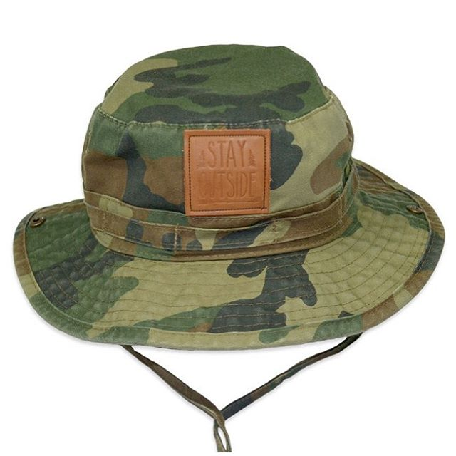 SHADE YOURSELF | camo bucket ☀️✌