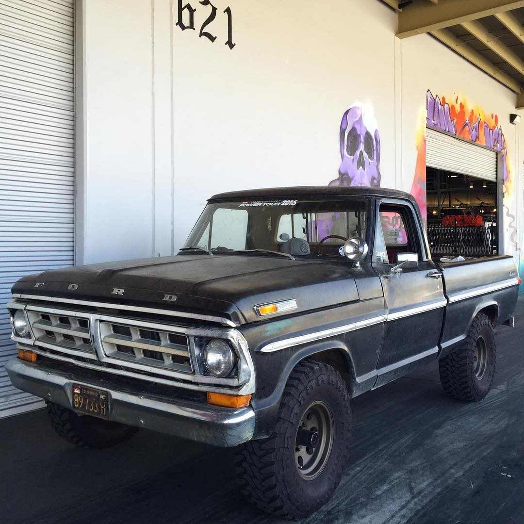 @baker_ashley's #F100 still needs a name, any suggestions? #wronghaulers #hoonigan #ford #truck