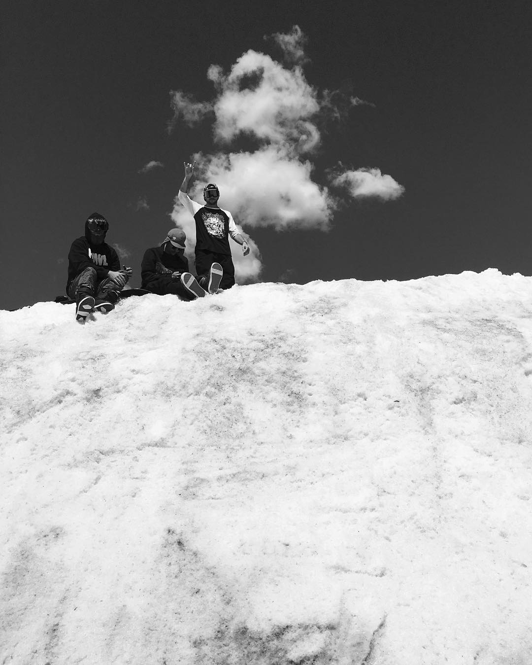We heard from @snowboardmag these 3, (@sleepystevens, @bcocard, @joesexton1817) are really enjoying the #Colorado summer.