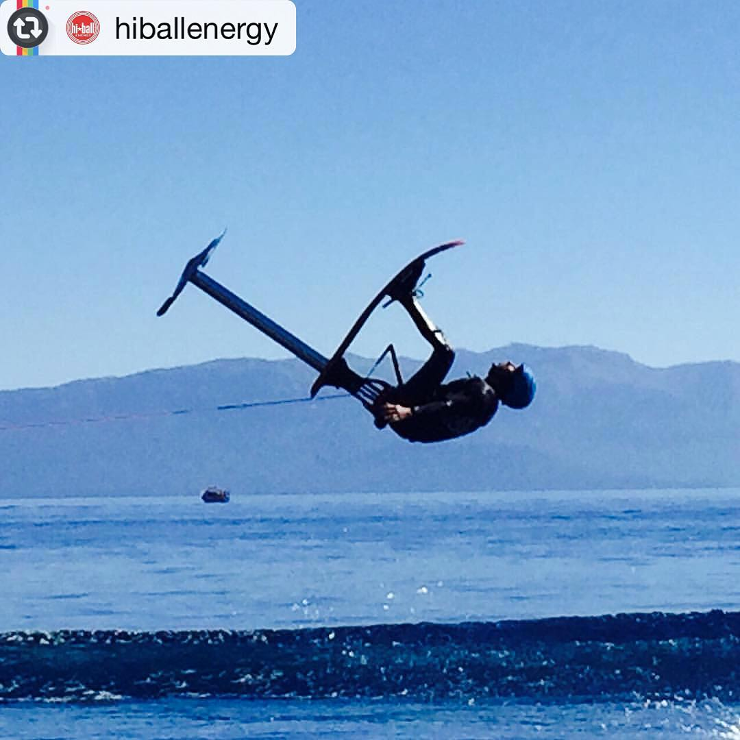 "Find the #stoked kid in this photo and ask me how fired up he is!  #Reposting @hiballenergy's post from yesterday shoot on#LakeTahoe: ""Airballer, @grantkorgan sending it! #hiballenergy #itsallgood #thepushfilm"" 