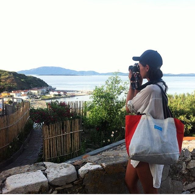 Weekends at #susak Island, #croatia // Follow @katjakremenic on her tour around Europe. She is working on some amazing photography projects involving people, water and boats. #fromsailstobags #mafiateam #mafiabags