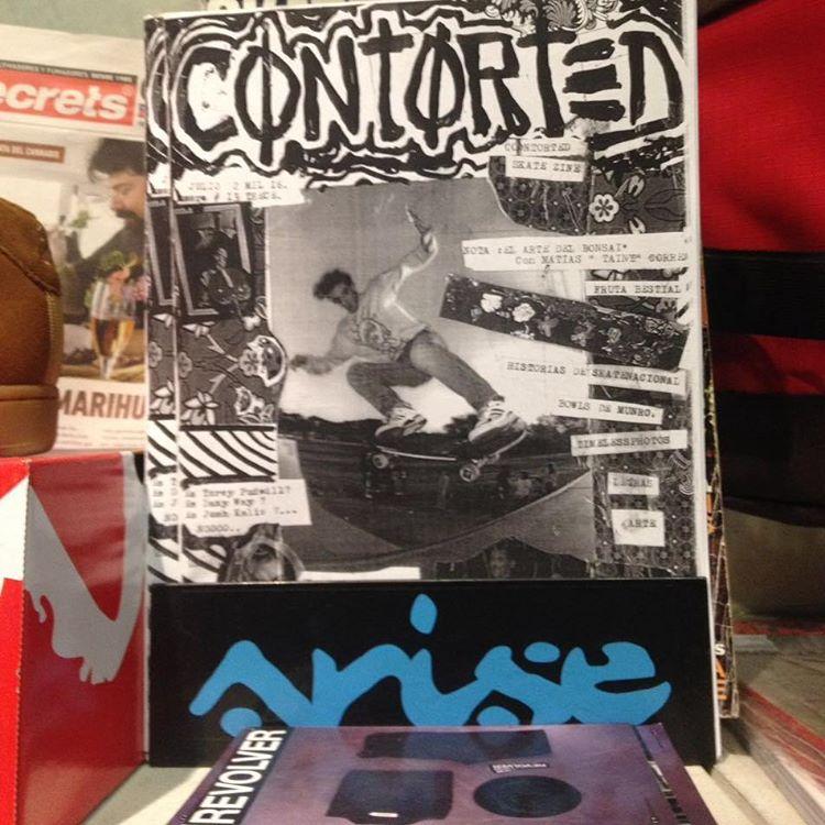 Lectura de hoy #contortedskatezine #skatezine since 1986 de la mano de Marianito gonz. Solo skate pa! #ortodoxia #raiz