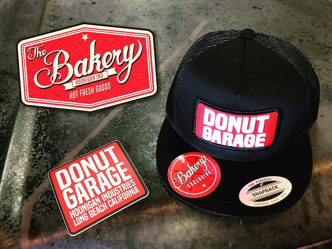 Donut Garage Bakery SPECIAL - FREE DONUT GARAGE sticker with every purchase. Step it up to $50 - get a FREE DONUT GARAGE snapback hat! This Saturday only, at the #DonutGarage Bakery,12-5pm. #supporthooniganism --------------- 621 Golden Ave Long Beach,...