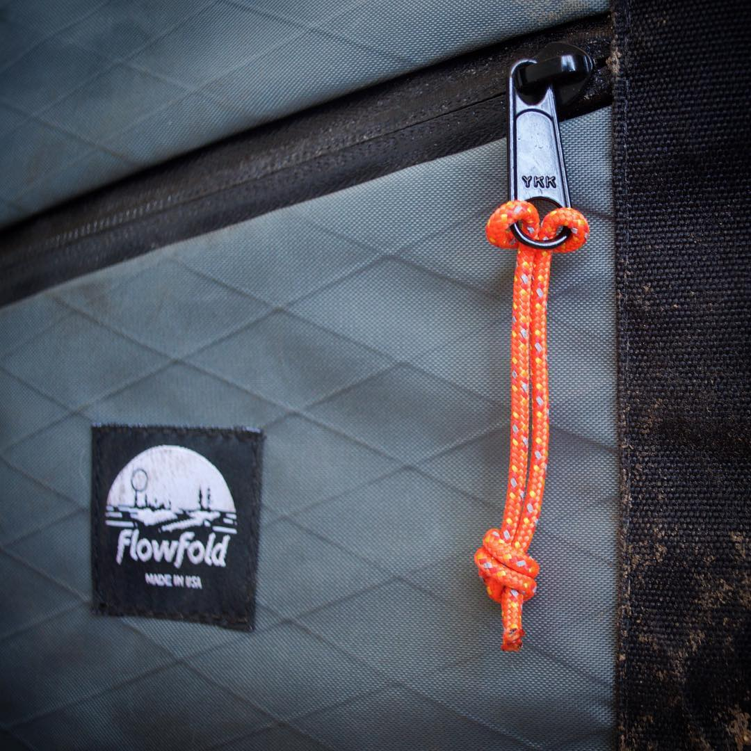 Customize any #Flowfold bag with our five new zipper pull colors available in 3-packs using link in profile. Grab a reflective set if you stay out late.