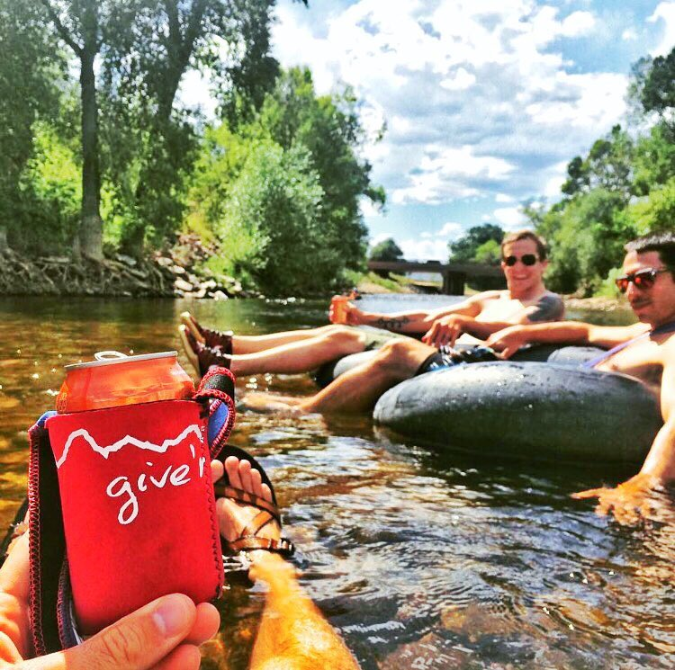 Cheers to the weekend!! Keep calm and float on. #giverjh