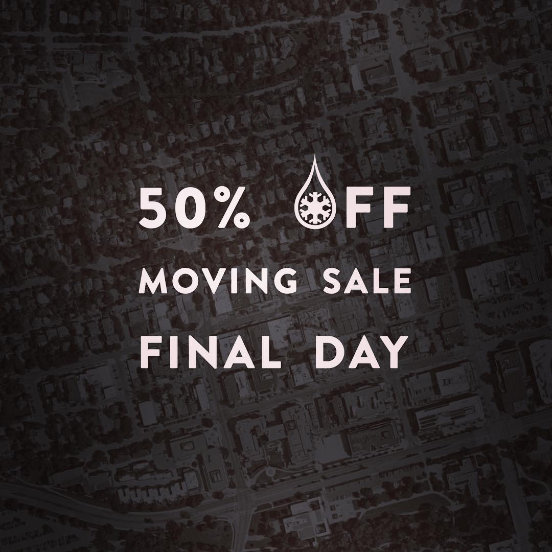 Final day for 50% off... link in our bio!  We are opening a shop in downtown Boulder and trying to dump as much inventory as possible.  Thanks everyone... we can't wait to meet you all at our first brick & mortar!