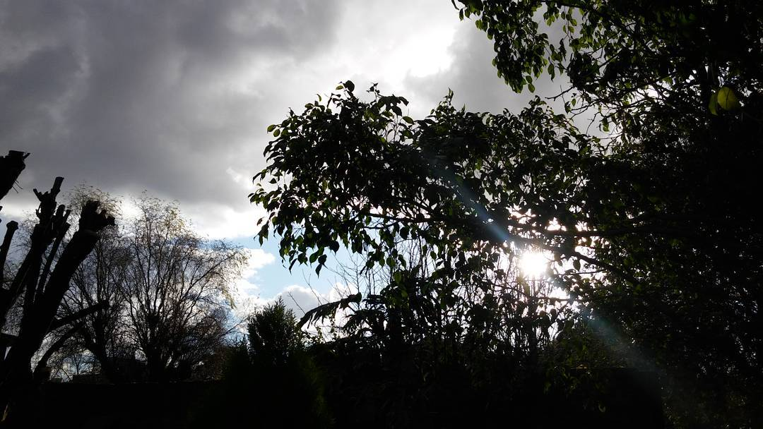 Fascinada.❄ #ofri #ph #contrast #contrastes #cielo #sky #nubes #clouds #cloudy #nuvoloso #sun #invierno #inverno #winter #lgg4photography
