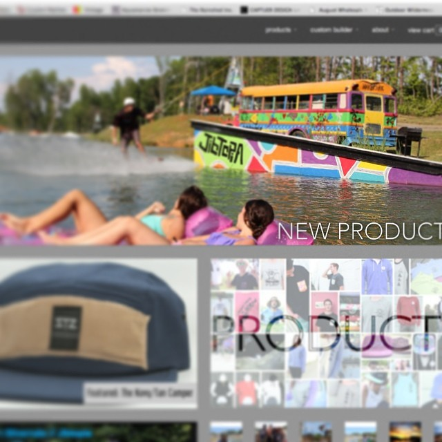Sneak peak of the New www.mystz.com // dropping Friday! (Maybe we will launch it tomorrow just for fun) stay tuned // tons of NEW products! #mystz #stzlife #springsummer #worththewait #onepageflow #socks #customcampers #buckets #ladiestanks // big...