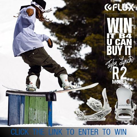 ANOTHER WAY TO WIN IT BEFORE YOU CAN BUY IT! Flux Bindings is giving away this set of 2016/17 GBP @gbpgremlinz Tyler Lynch @sababa_life Bindings before you can buy them! It's easy, just click the link in our Instagram profile to sign up to win. Tyler...