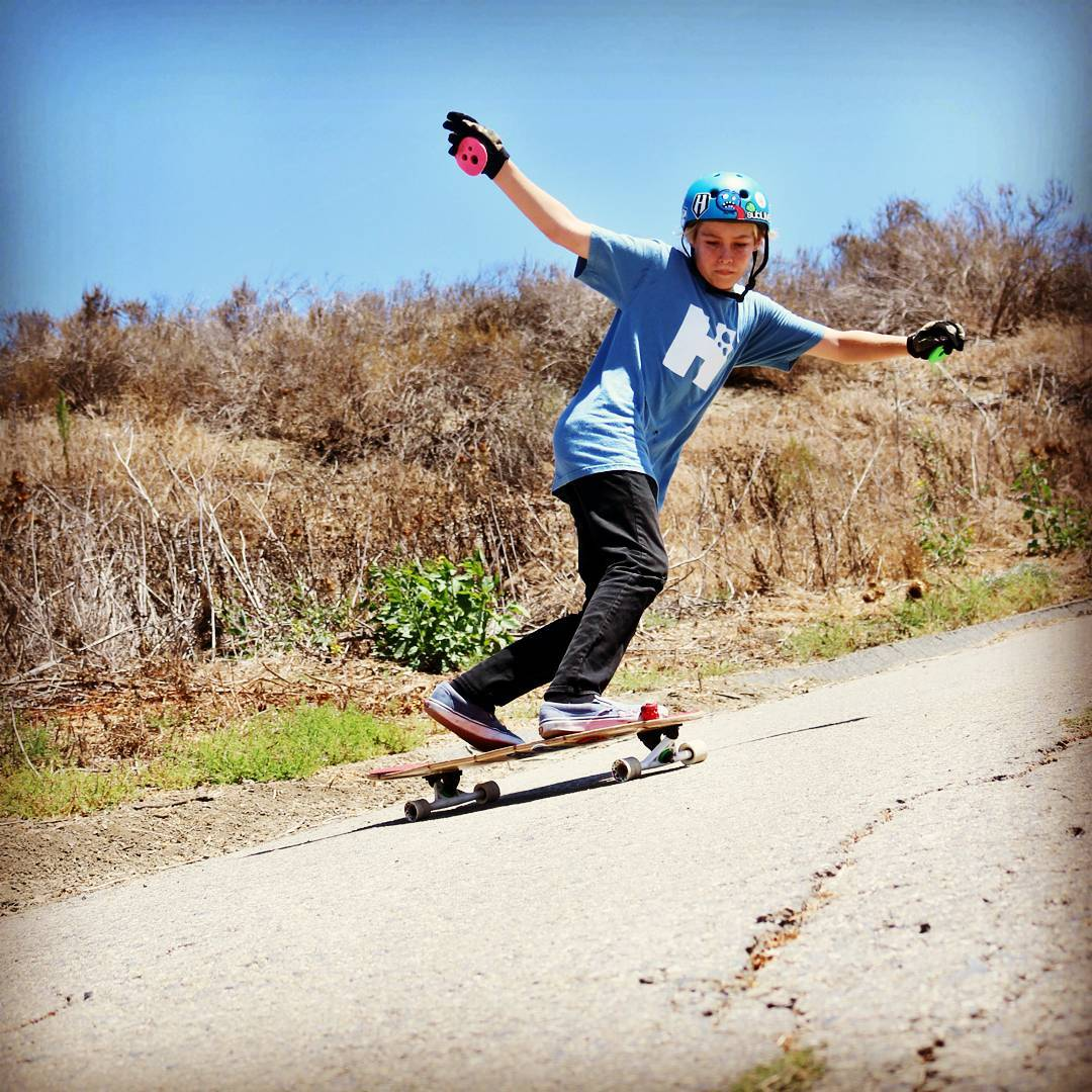 Tag a friend who cant shred like  an 11 yr old -- Our youngest grom @ryderfish with the fat toeside somewhere in San Clemente