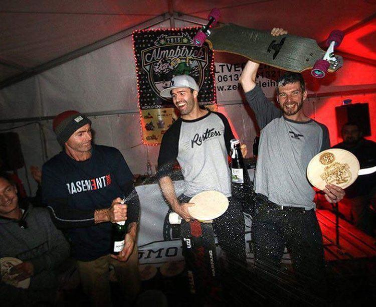 @niko_dh won the masters once again at #almabtrieb2016 !  #restlessboards #restlessnkd